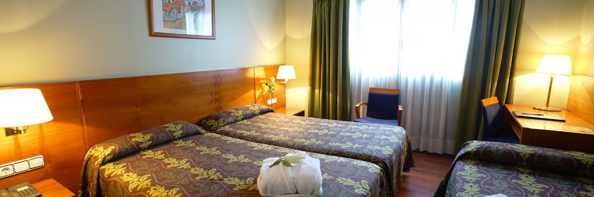 Double room with extra bed - Hotel Diplomàtic