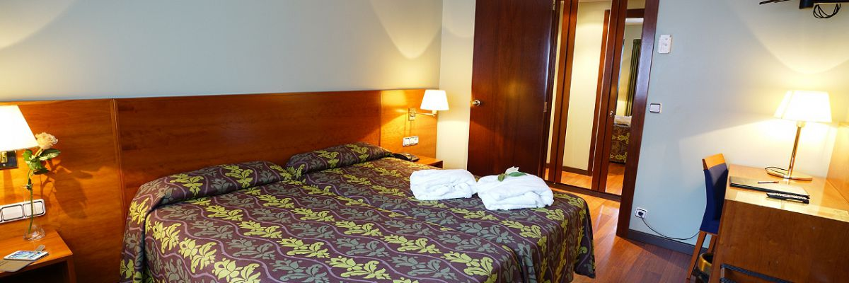 Double room - Hotel Diplomàtic